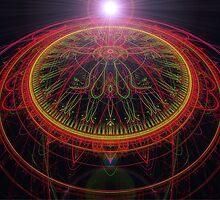 Alien Celestial Compass  (UF0260) by barrowda