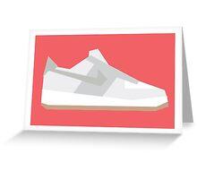 AF1 - Minimal Sneaker Greeting Card