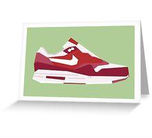AM1 - Minimal Sneaker Greeting Card