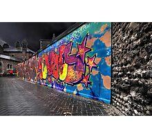 colour glow Photographic Print