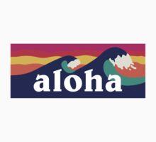 Aloha - waves by mustbtheweather