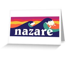 Nazare Greeting Card