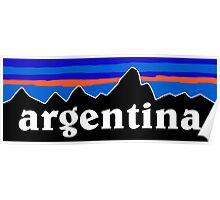 Argentina - logo mashup Poster