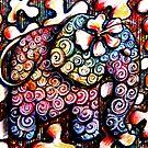 Tattoo Elephant  by © Karin  Taylor