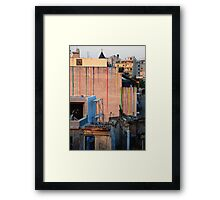 What colour shall I paint the wall... Framed Print