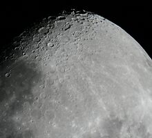 Moon close up by aokman