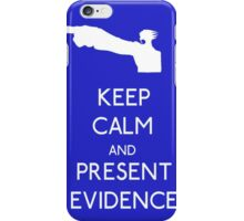 Keep Calm Phoenix Wright T-Shirt Ace Attorney iPhone Case/Skin