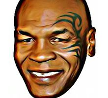 MIKE TYSON (iron mike) by leonchristo