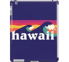 Hawaiian waves iPad Case/Skin