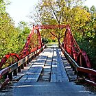 Red Bridge by Sandy Keeton