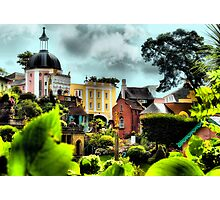 Portmeirion Village Through the Gardens Photographic Print