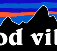 Good Vibes - Mountain version Sticker
