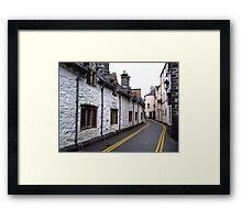 Almshouses - Llanrwst Framed Print