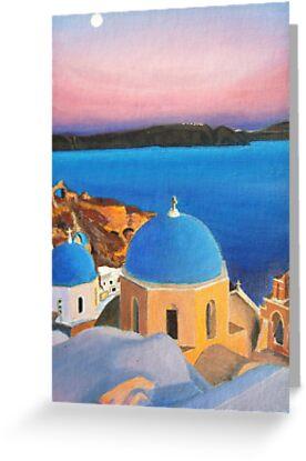 Santorini by Sebastian  McLaughlin