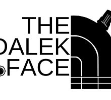 The dalek face (black) by Arry