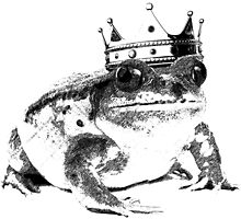 Frog King by soulysart
