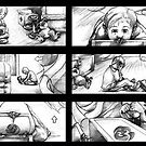 the music box - shooting storyboard by Liesl Yvette Wilson