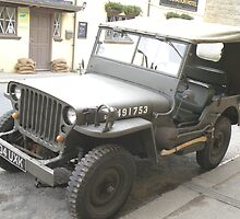 W.W.II Jeep (2) by Edward Denyer