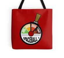 Go Straight to Ludicrous Speed, but not to Plaid! Tote Bag