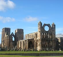 Elgin Cathedral, Scotland by highlandlass