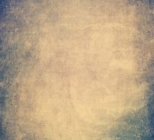 Blue and orange romantic grungy background texture with scratches by mikath