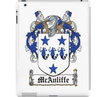 MacAuliffe (Ulster) iPad Case/Skin
