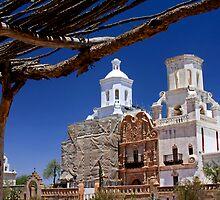 San Xavier del Bac by Sue  Cullumber