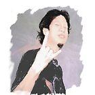Gibson metal geek a.k.a self-portrait by gibimich
