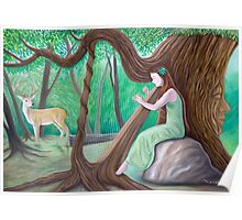 The Harpist and the Tree Poster