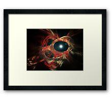 Eye of God Framed Print