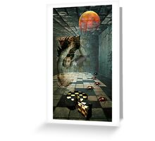 DEVIL'S DESSERT Greeting Card