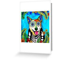 Heeler I Greeting Card