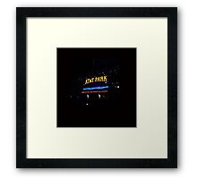 Giants Baseball Framed Print