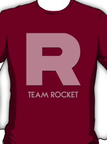Pokémon Team Rocket Logo Shape (Silhouette) T-Shirt