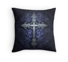 Gothic Cross Throw Pillow Throw Pillow