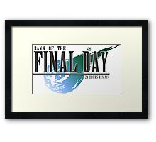 Dawn of the Final Day 2 Framed Print