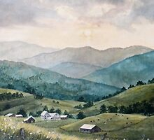 Mountain Valley Farm by JKHowsarePearl