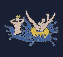 Skinny Dipping Couple Kids Clothes