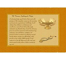 The Florence Nightingale Pledge Photographic Print