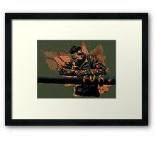 Fury: Best Job I Ever Had Framed Print