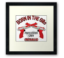 PRESS ENTER Framed Print