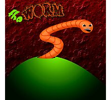 The Worm Photographic Print