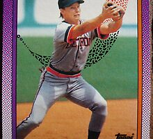 338 - Mike Brumley by Foob's Baseball Cards