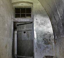 reclusion cell in the gestapo camp in Terezin by danapace