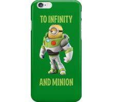 Minion buzzing light year to infinity iPhone Case/Skin