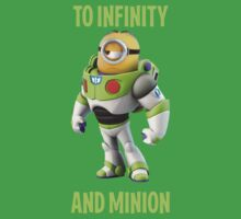 Minion buzzing light year to infinity by minionsfanboy
