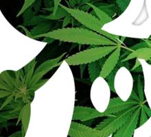 Mickey Weed Sticker