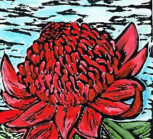 Waratah Bags ~ Courage, Survival & Strength  by Cheralyn Darcey