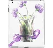 Lilac flowers iPad Case/Skin