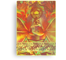 Waking Up (Open Third Eye) Canvas Print